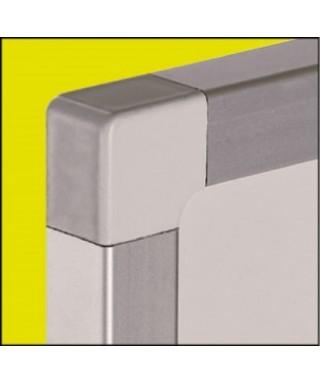Pizarra acero vitrif. proyección marco aluminio