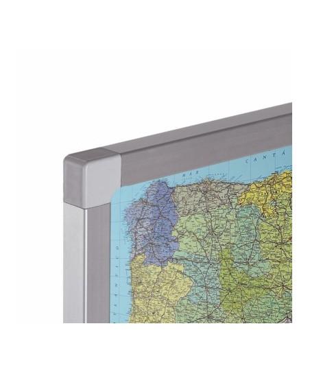 Mapa Mundi base de corcho
