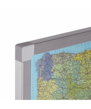 Mapa Europa base metálica