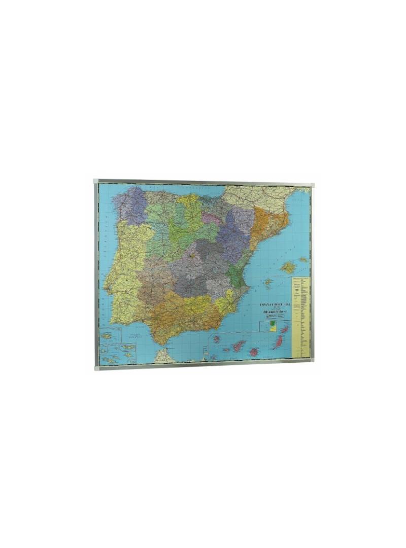 Mapas para se alizaci n mapa espa a base de corcho - Mapa de corcho ...