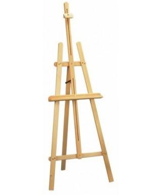 Caballetes trípode madera
