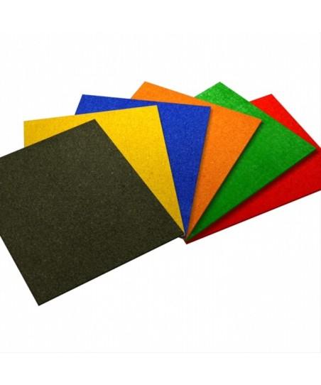 Placas de corcho autoadhesivo de colores
