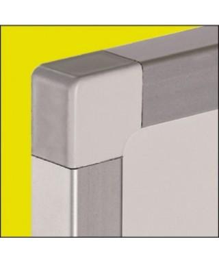 Pizarra acero lacado marco aluminio