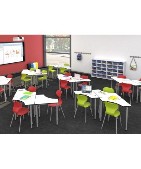 Mesa escolar aula colaborativa Arrow