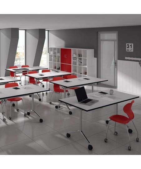 Mesa escolar aula colaborativa Alufloop