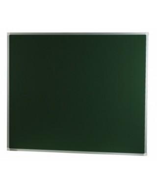 Pizarra verde laminada con marco de aluminio