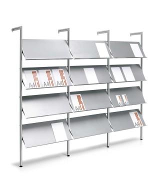 Sistema portacatálogos modular