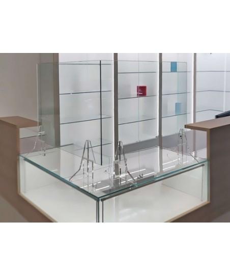 Mampara de vidrio templado Luxe