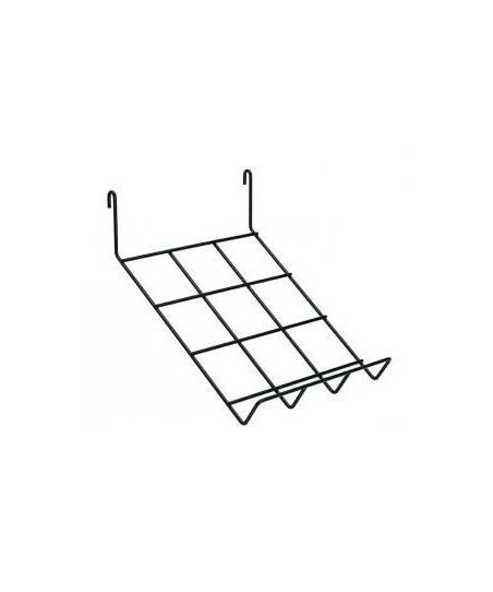 Rejilla de exposición modular (estante inclinado)