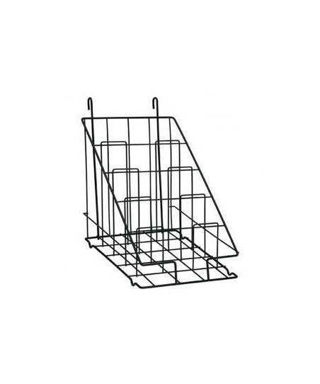 Rejilla de exposición modular (revistero vertical)