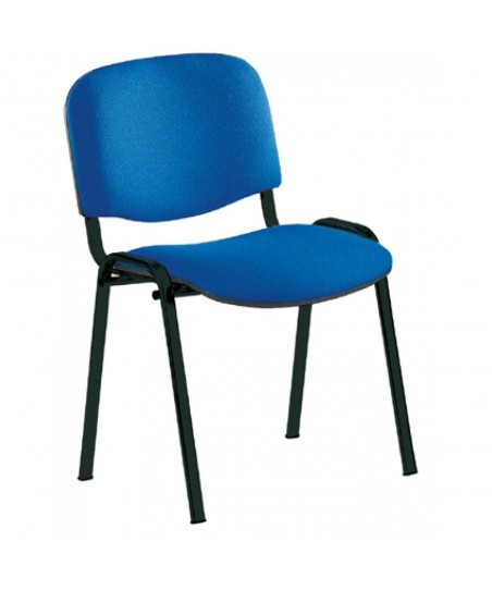 Silla confidente oficina (color azul)