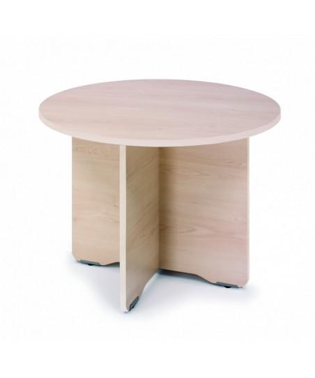 Mesa de reunión circular 100 cm Work