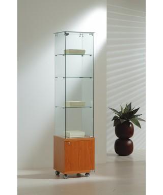 Vitrinas altura 180 cm vidrio y buck