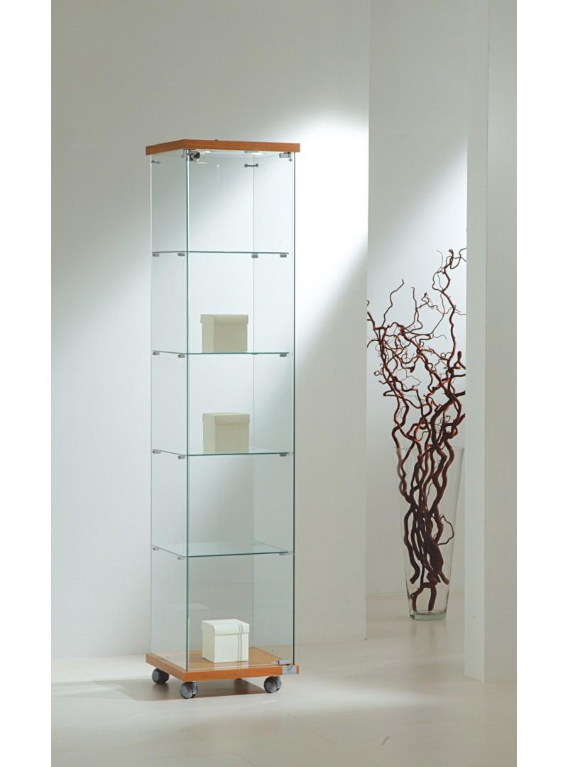 Vitrinas altura 181 cm vidrio e iluminación