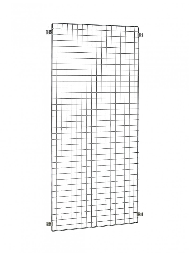 Rejilla de exposición modular (color gris)