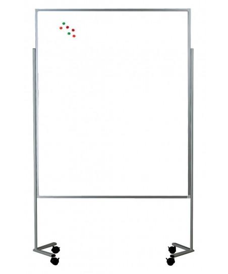 Tableros móviles de exposición (acabado pizarra blanca acero vitrificado)