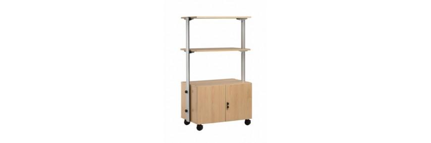 Muebles auxiliares para monitores especiales
