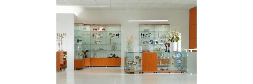 Vitrinas de exposición modelo Laminado Glass