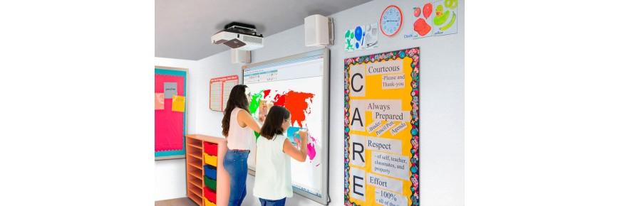 Pizarras digitales interactivas y packs