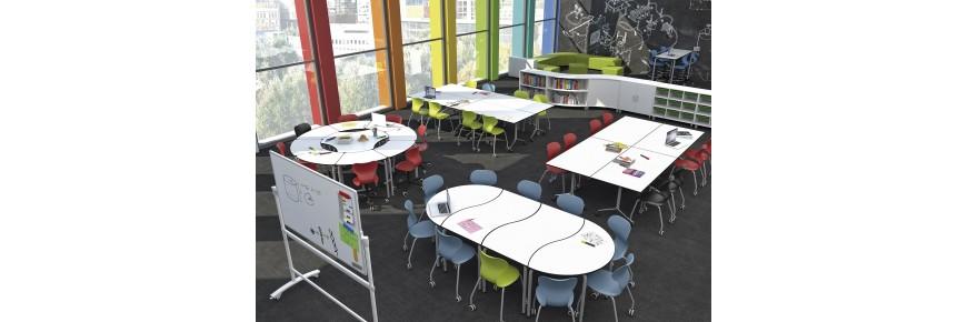 Mobiliario aula colaborativa